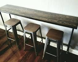 Breakfast Bar Table Breakfast Bar Etsy