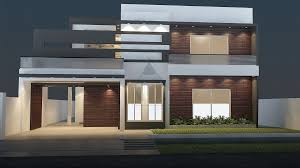 1 kanal house design with basement having 5 bedrooms attached
