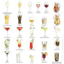 cosmopolitan drink clipart personalised favourite drinks illustration print by milly inspired