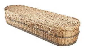 wicker casket wicker coffin compare the coffin