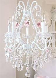 Shabby Chic Chandeliers by Pretty Pink Chandelier W Intricate Detail Dream Home And