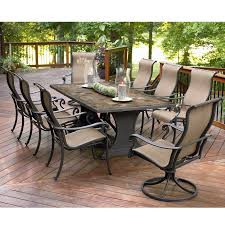amazon outdoor furniture round patio dining sets liquidation