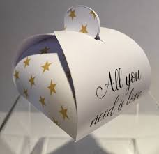 all you need is love personalised wedding favours highland favours