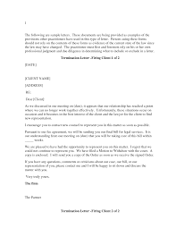 Contract Termination Notice Template by Best Photos Of Firing A Client Letter Template Sample Letter