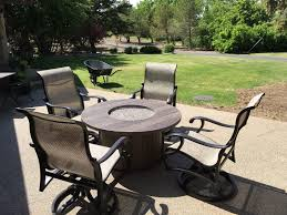 Fire Patio Table by Lethbridge Patio Furniture Beachcomber Lethbridge Tubs