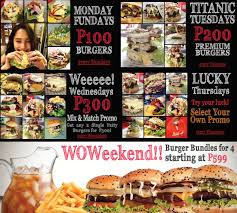 Backyard Burgers Backyard Burgers March Madness Davao Burgers At Backyard Burgers
