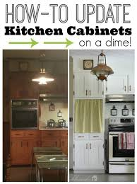 Kitchen Cabinet Door Paint How To Update Kitchen Cabinets Cabinet Doors On A Dime