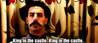 Ha Gay Meme Gif - king in the castle gif
