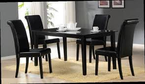 black dining room table set 4 seater dining set four seater dining table and chairs inside