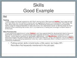 What To Put In A Resume Summary Examples Of Skills To Put On A Resume Resume Example And Free
