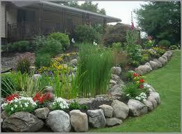garden borders stone home outdoor decoration