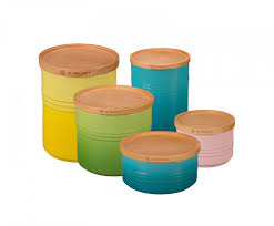 Orange Kitchen Canisters Storage Canister Le Creuset