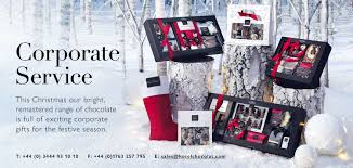 corporate gifts and chocolate from hotel chocolat