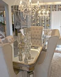 Mirrored Dining Room Furniture Mirrored Dining Room Set Dining Room Cintascorner Mirrored