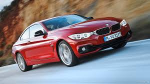 red bmw 2014 bmw 4 series coupe 435i sport line red front hd