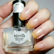review of temix b49 peel off base coat fine polish