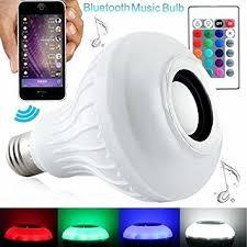 bluetooth music light bulb amazon com 12w bluetooth speaker led light bulb rgbw changing l