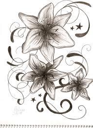 upper back chrysanthemum tattoo design