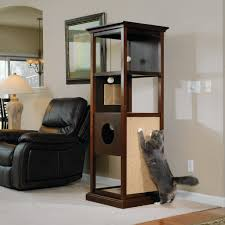 pet products traditional cat tower 418301 sauder
