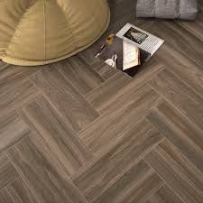 Wood Effect Laminate Flooring Wood Effect Floor Tiles Dark African Timber Style