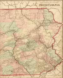 Paper Towns On Maps 1870 U0027s Pennsylvania Maps