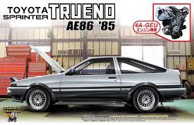 toyota motor corporation japan toyota trueno ae86 u002785 initiald cars pinterest ae86