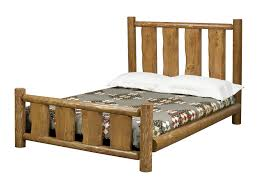 Log Bed Pictures by Sauna Anywhere Little House Log Bed Queen