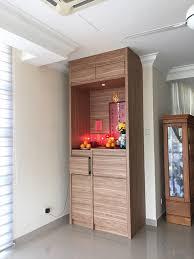 altar simple woodwork plywood laminate goldencarpentry
