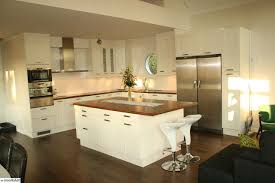 Kitchen With Island Design Ideas White Square Kitchen Island U2014 Kitchen Cabinet Best Square