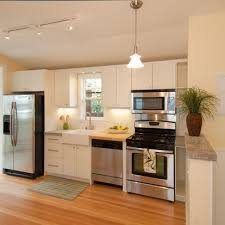 one wall kitchen layout with island one wall kitchen brilliant throughout kitchen interior and