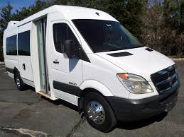 dodge commercial van 2008 used dodge mercedes sprinter 3500 all purpose bus w lift for