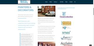 painting u0026 decorating business website merritt decorators ltd