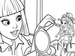 barbie thumbelina breaks coloring kids kids colouring
