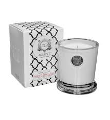 winter currant large candle in gift box