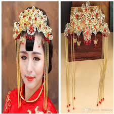 wedding headdress flowers classical style bridal hair accessories costume