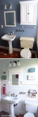 small bathroom makeover ideas 37 small bathroom makeovers before and after pics small