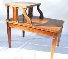 Mersman End Table Antique 1950 U0027s Mersman 2 Tier Mahogany Nightstand 7640 Youtube
