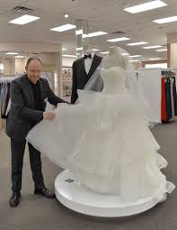 wedding dress david bridal wedding wednesday david s bridal creative director robert