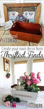 thrift store diy home decor home decor storage from thrift store finds prodigal pieces