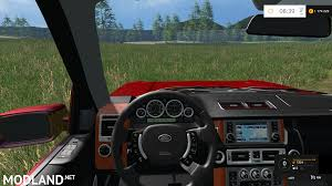 land rover truck 2015 range rover red v 1 0 mod for farming simulator 2015 15 fs ls