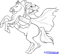 Halloween Coloring Pages Online by Headless Horseman Coloring Pages Halloween Color Page Coloring