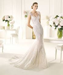 cool wedding dresses favorite illusion neckline wedding gowns of 2013