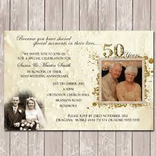 50th wedding anniversary invitations templates anniversary invitation wording plus 50th wedding