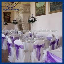 purple chair sashes sh007l wholesale cheap fancy wedding organza bow purple chair