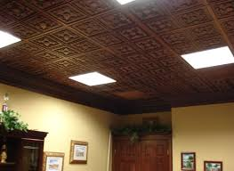 ceiling diy faux tin tile ceiling awesome insulated ceiling