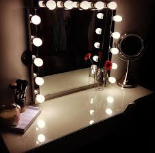 awesome dressing table with lights around mirror 36 vanity ideas