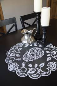 halloween lace tablecloth 739 best sugar skulls images on pinterest sugar skulls death