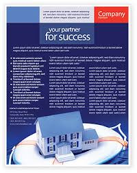property insurance flyer template background in microsoft word