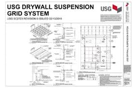 Suspended Drywall Ceiling by Usg Drywall Ceiling Suspension System Lader Blog