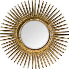 sunburst mirror option for over room u0026board entry table uttermost